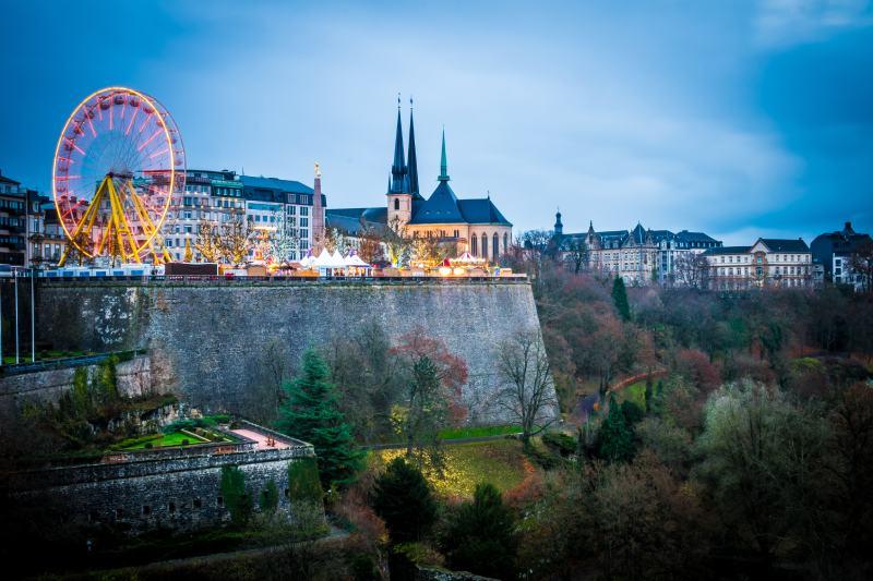 luxemburg stad kerstmarkt